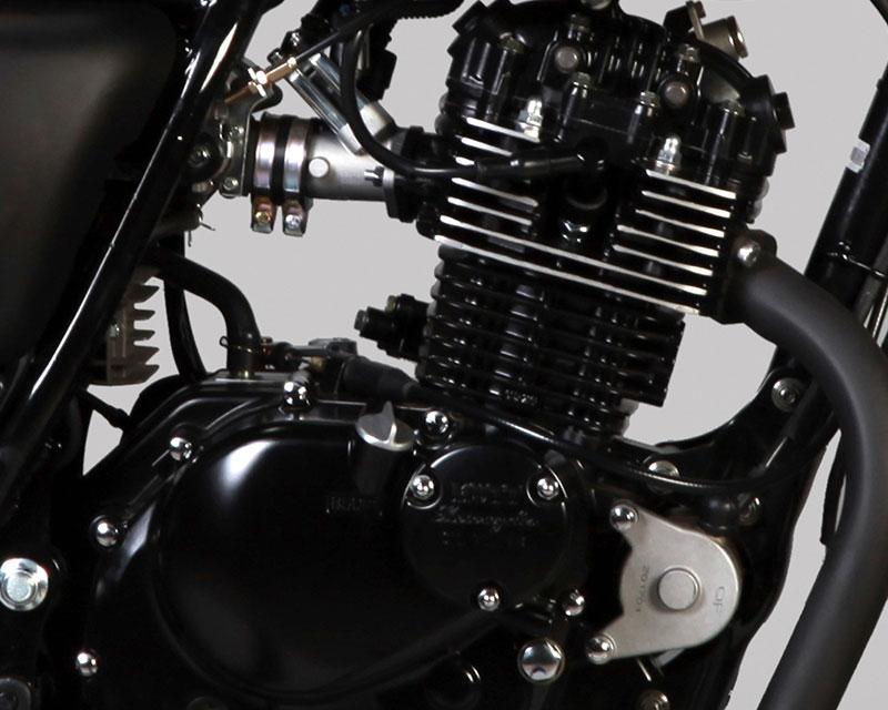Mutt Motorcycles Mongrel Rear Suzuki GN125