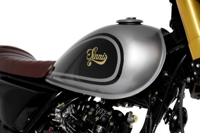 Retro 125cc - Sinnis Cafe Racer Fuel Tank