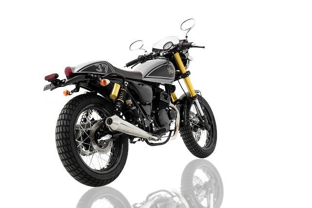 Retro 125cc - Sinnis Cafe Racer Rear