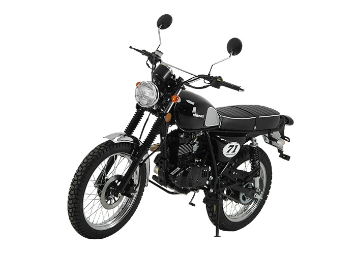 Retro 125cc - Sinnis Scrambler 125cc Front Left