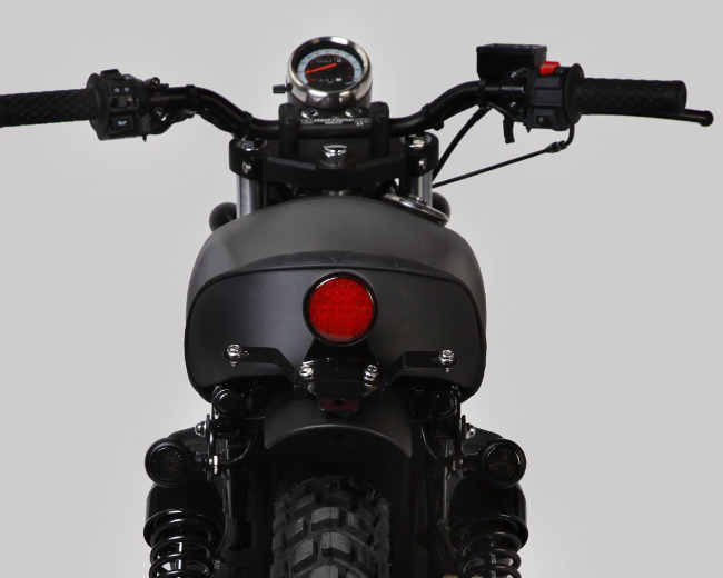 Mutt Motorcycles - Mutt RS-13 250 Rear