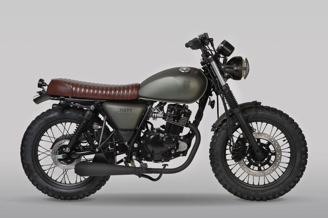 Mutt Motorcycles Hilts Green 125