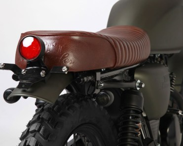 Mutt Motorcycles Hilts Green 125 TailLight