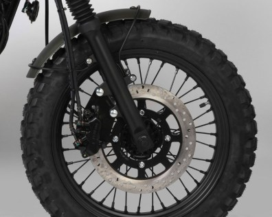 Mutt Motorcycles Hilts Green 125 Tyres