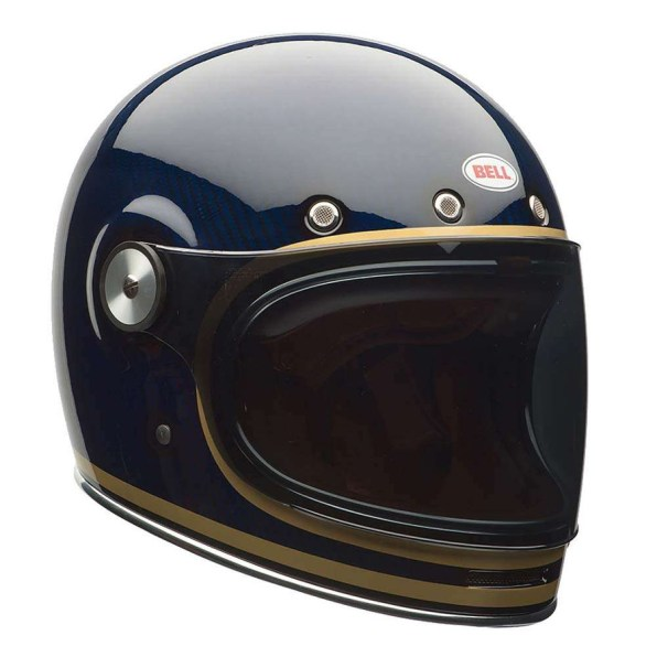 BELL BULLITT CARBON CANDY BLUE HELMET FRONT RIGHT