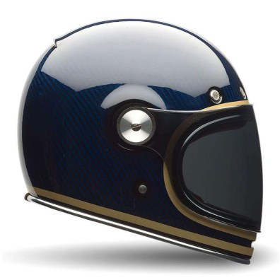 BELL BULLITT CARBON CANDY BLUE HELMET RIGHT