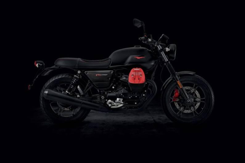 Moto Guzzi V7 MK3 Carbon