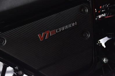 Moto Guzzi V7 Carbon Side Panels