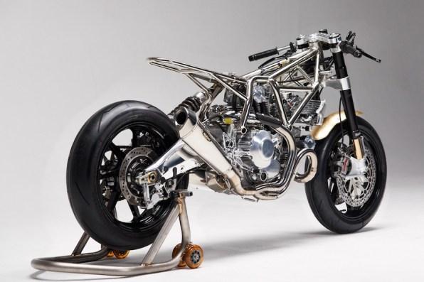 Ducati Scrambler Custom Aellambler Masaharu Frame