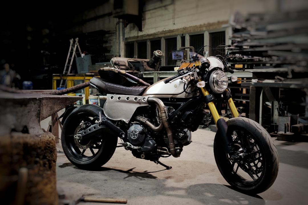 Ducati Scrambler Custom Rumble 2nd Edition