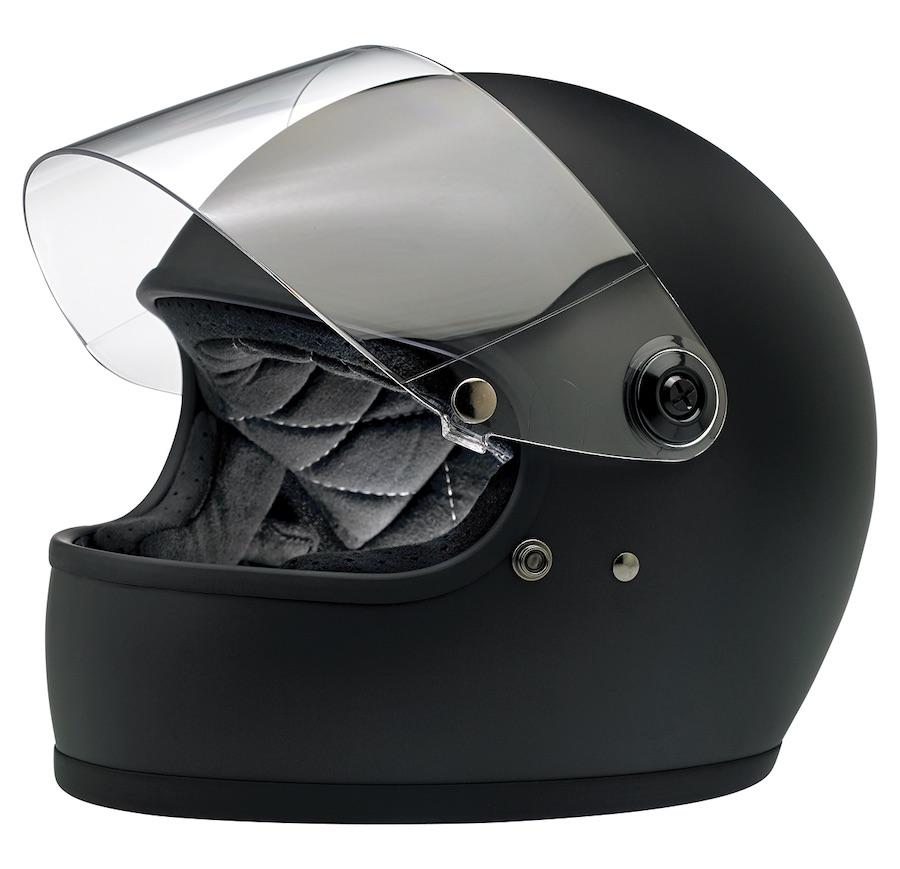 Biltwell Gringo S - ECE Approved Helmet Matt Black