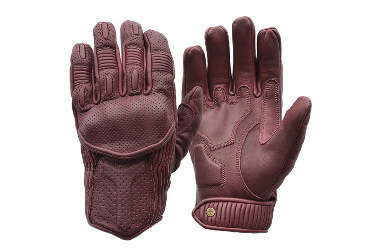 Goldtop Predator Gloves - Silk Lined Predator Gloves - Burgundy Purple