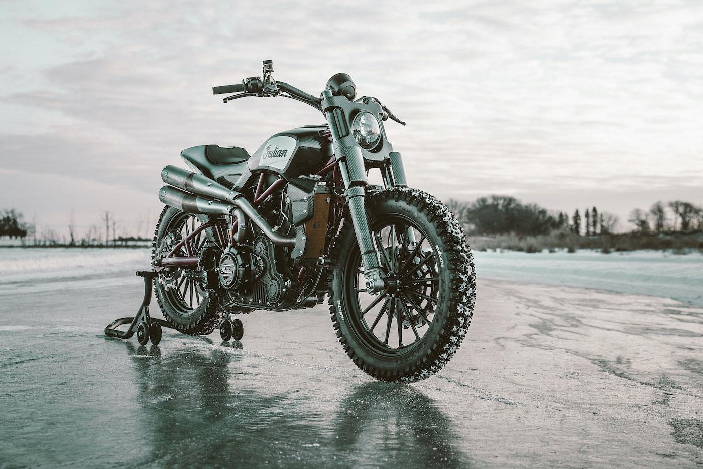 FTR1200 Custom Brad Baker Frozen Lakebed