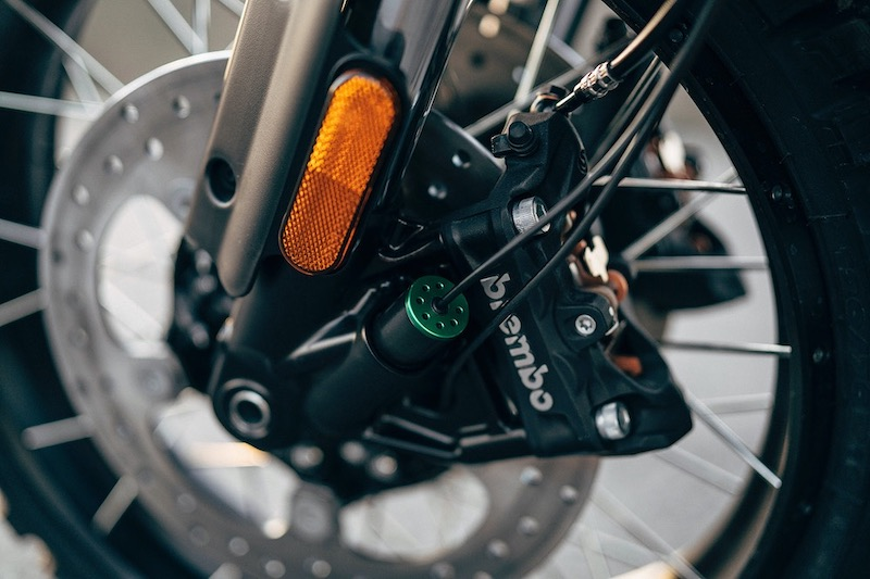 Harley-Davidson Pan-American brembo calipers