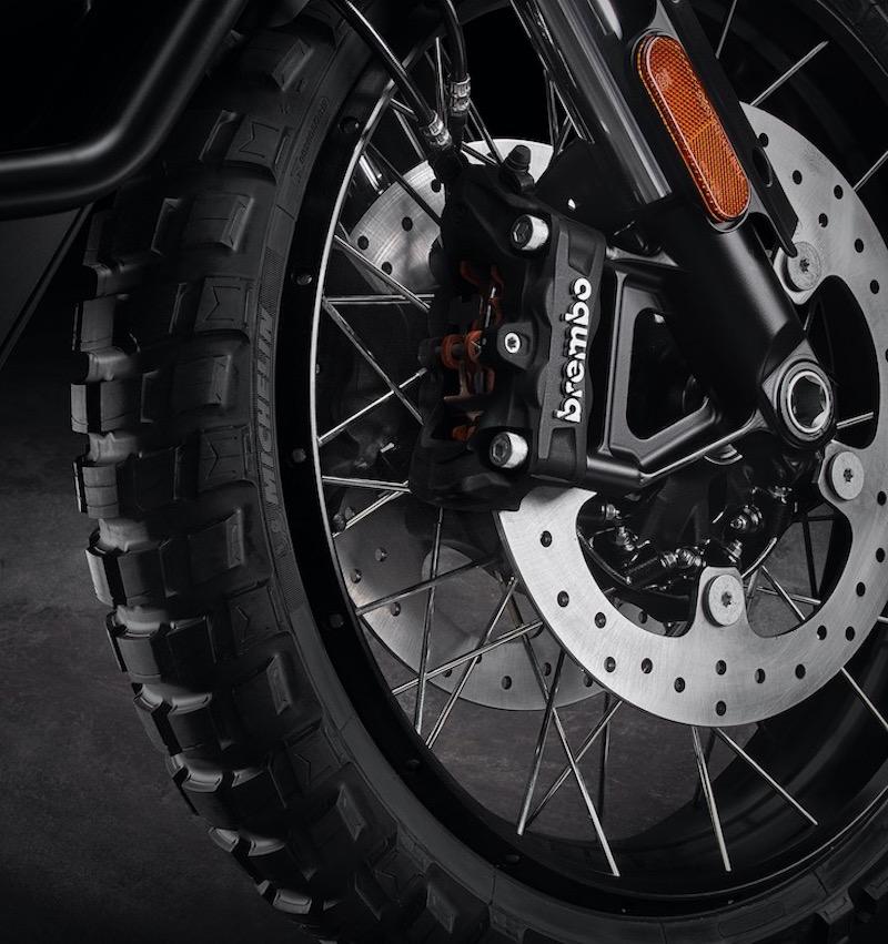 Harley-Davidson Pan American disc brakes