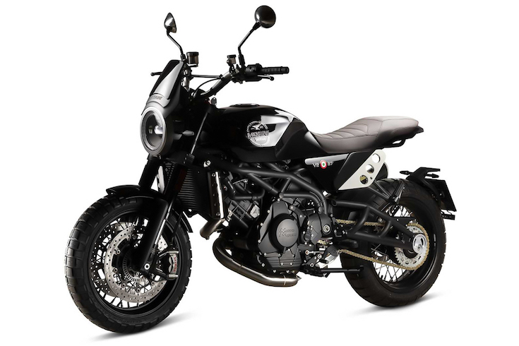 Moto Morini Super Scrambler front left