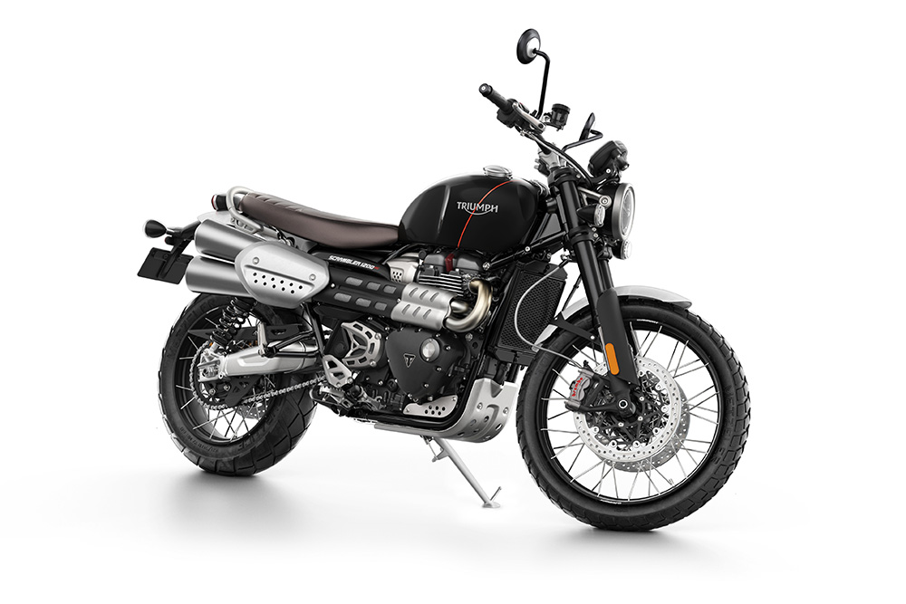Scrambler 1200 XC Black Front right side