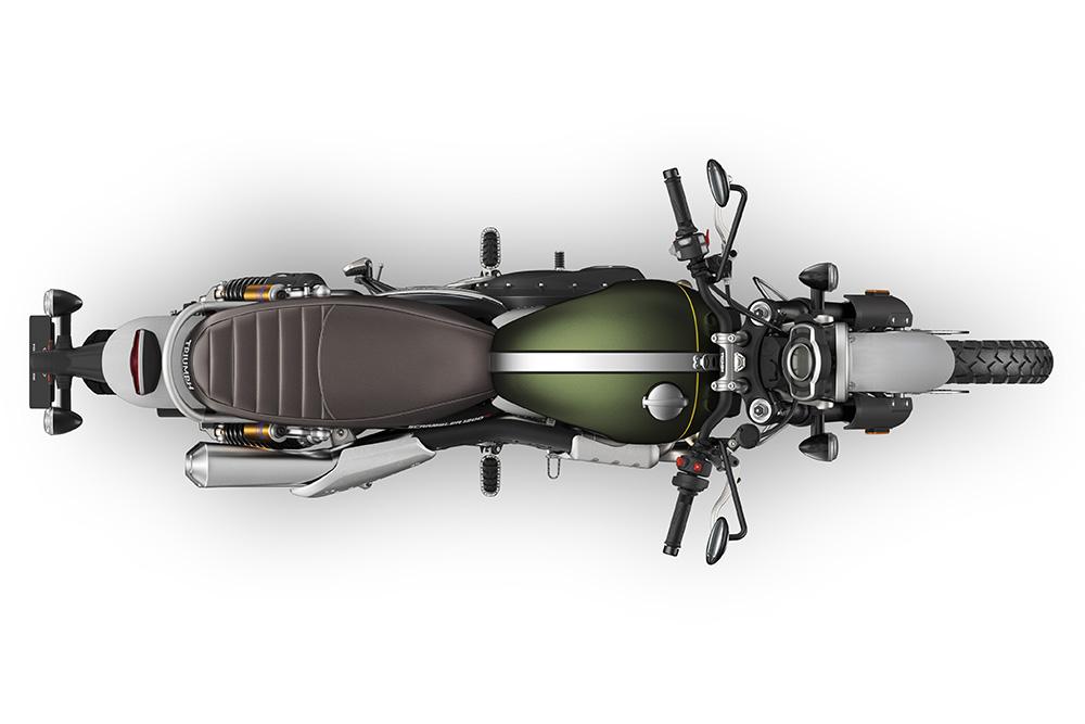 Scrambler 1200 XC Green Top