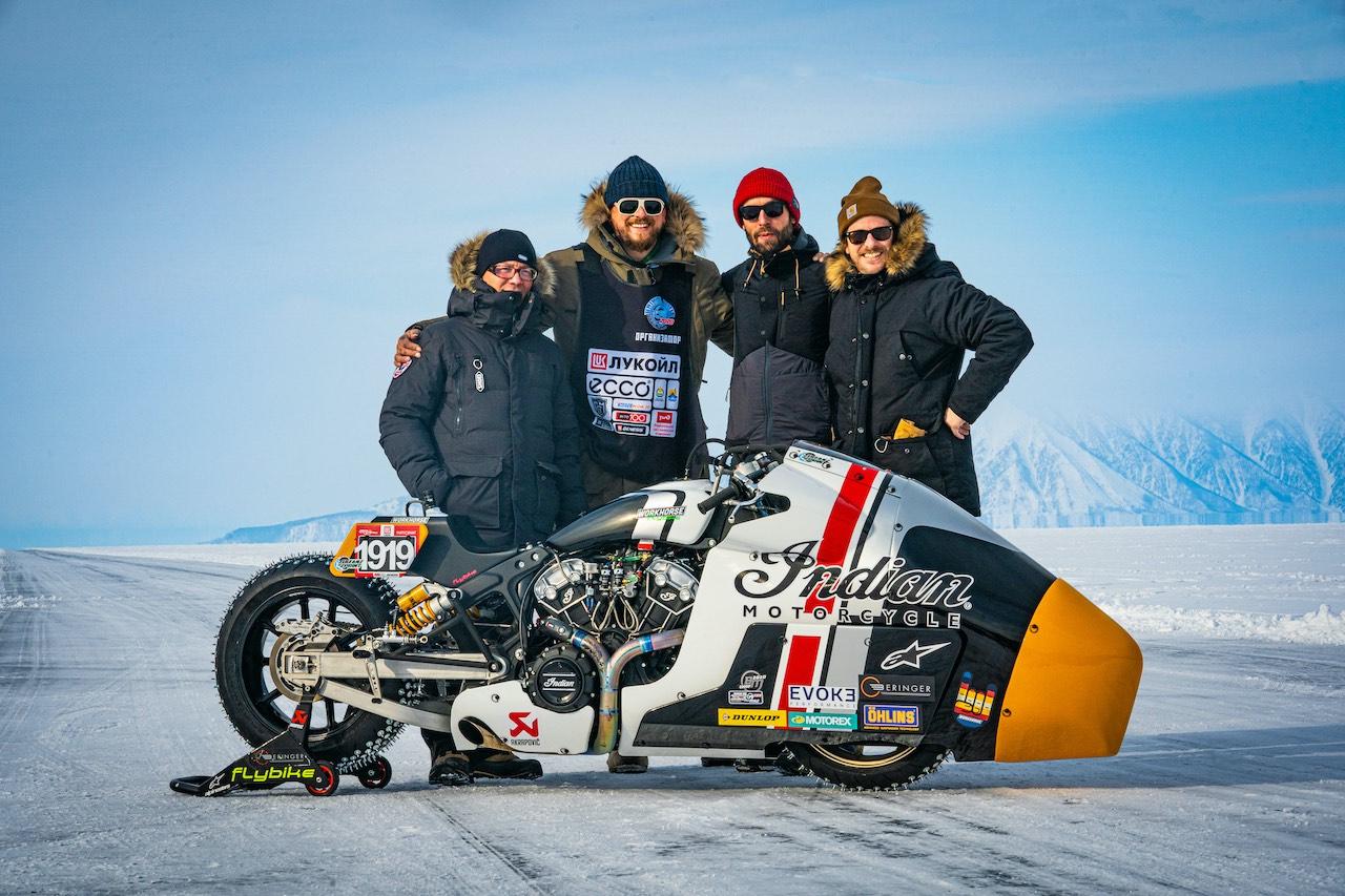 Team photo of Workshorse Speed Shop with Appaloosa v2 Baikal