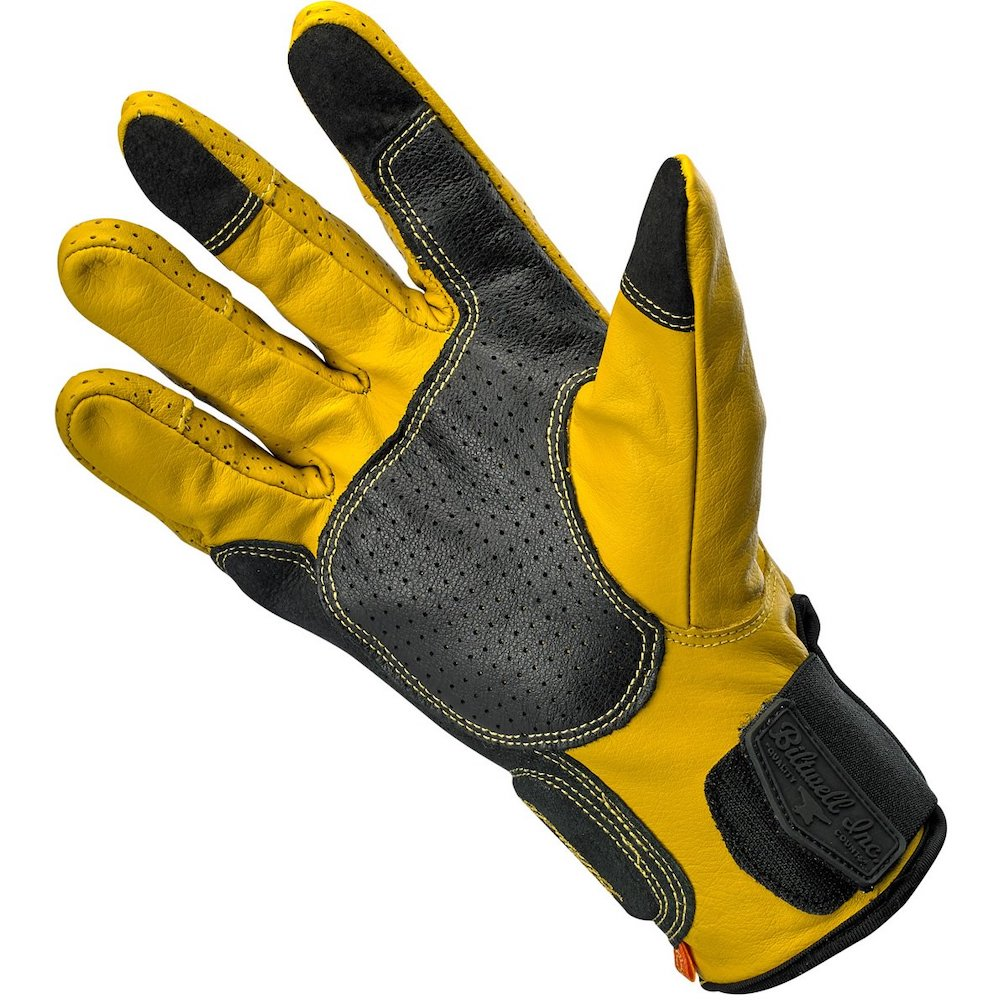 Borrego Gloves - Gold/Black palm