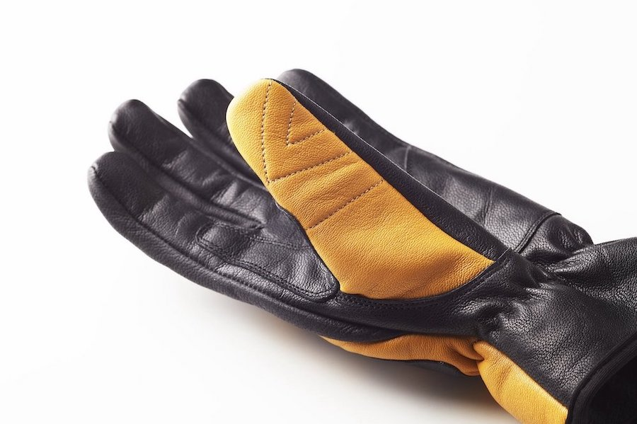 Fuel Moto X Gloves left thumb