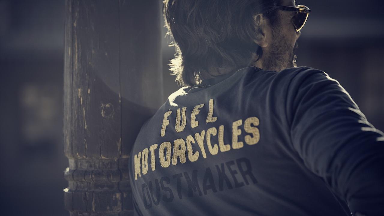 El Gringo Tour - Fuel Motorcycles Dust Maker Long Sleeve T-shirt