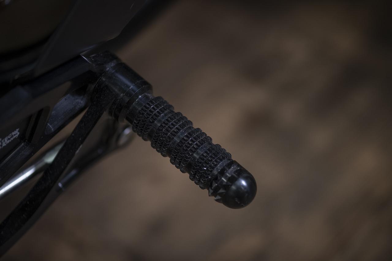 Custom footpeg