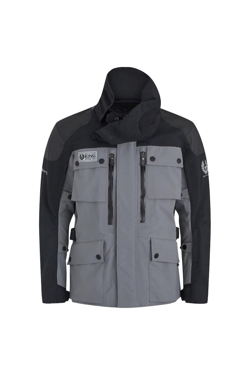Long Way Up Jacket Grey Black