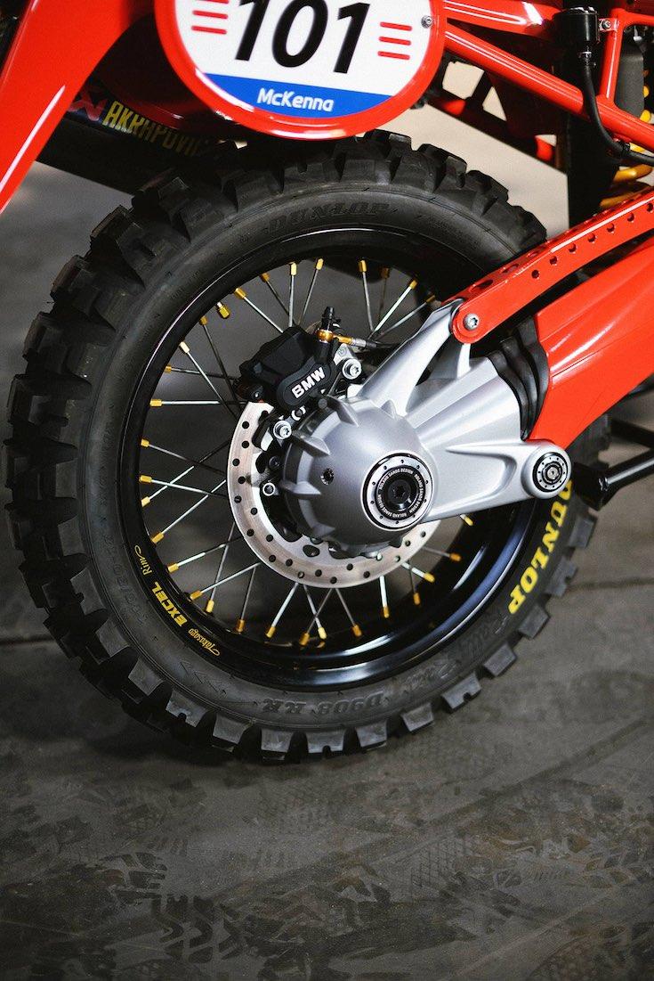 RSD Dakar G/S Rear Wheel