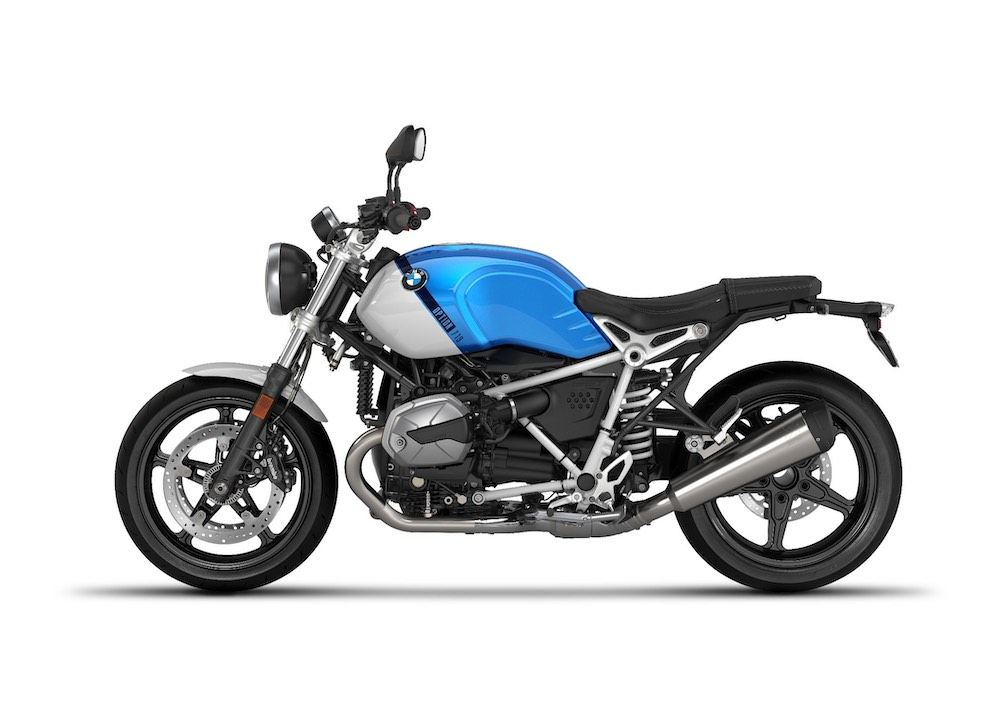 2021 BMW R nineT Pure Option 719 Cosmic blue metallic Light white