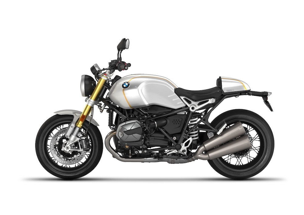 2021 BMW R nineT Option 719 Mineral white metallic:Sunset yellow