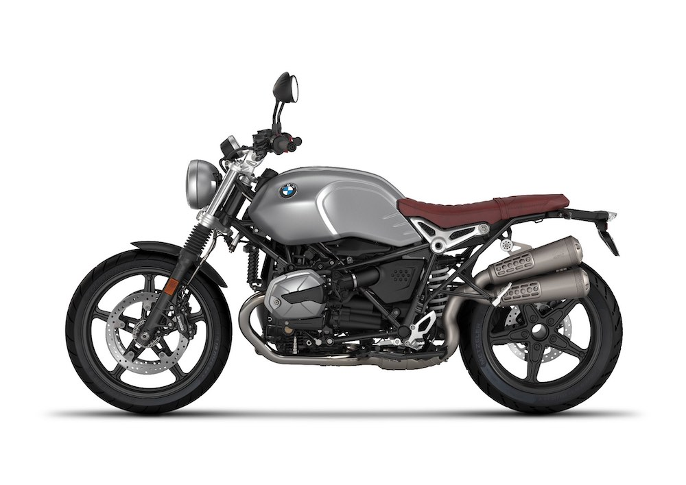 BMW R nineT Scrambler Granite grey metallic
