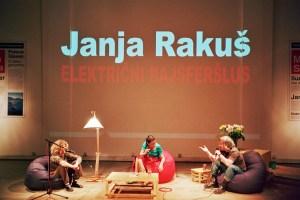"""Električni rajsferšlus"", Janja Rakuš | promocija"