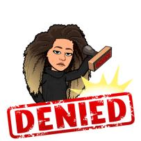 denied stamp