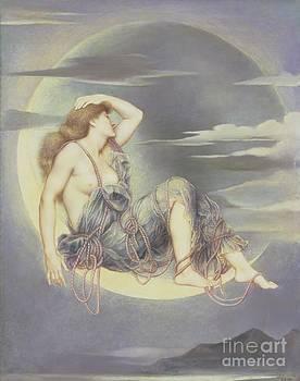 Evelyn De Morgan - Luna