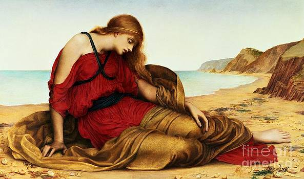 Evelyn De Morgan - Ariadne in Naxos