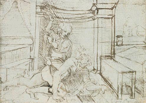 Leonardo Da Vinci - Aristóteles y Phyllis