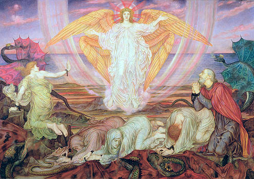 Evelyn De Morgan - Death of the Dragon