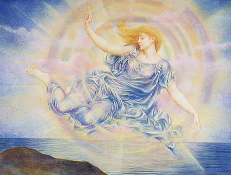Evelyn De Morgan - Evening Star Over the Sea