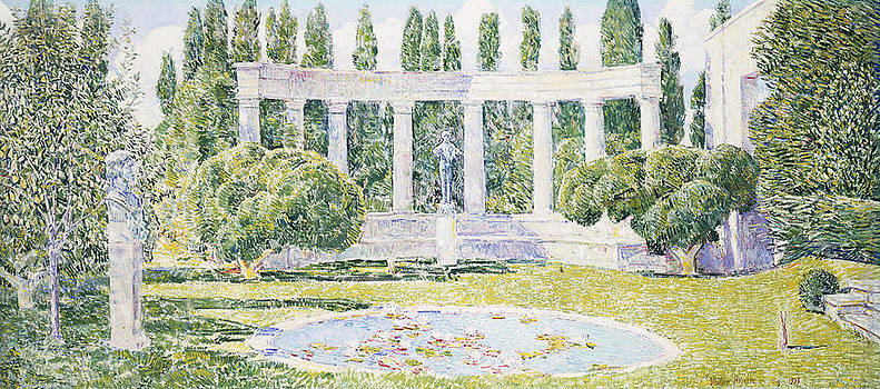 Childe Hassam - The Bartlett Gardens