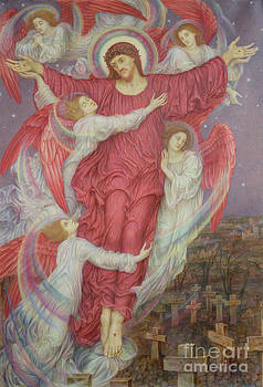 Evelyn De Morgan - The Red Cross