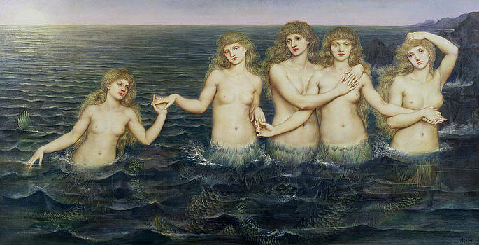 Evelyn De Morgan - The Sea Maidens