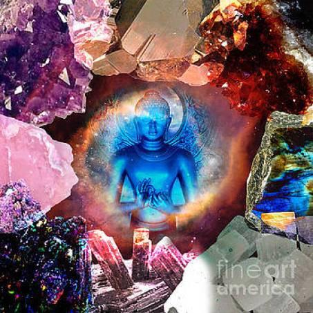 Buddha Rocks by Olivia Tatara
