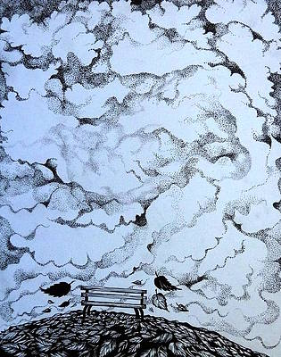 Pen And Ink Clouds : clouds, Clouds, Drawings, America