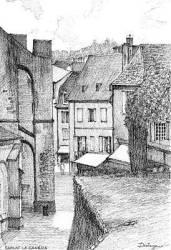 Medieval Village Drawings Pixels