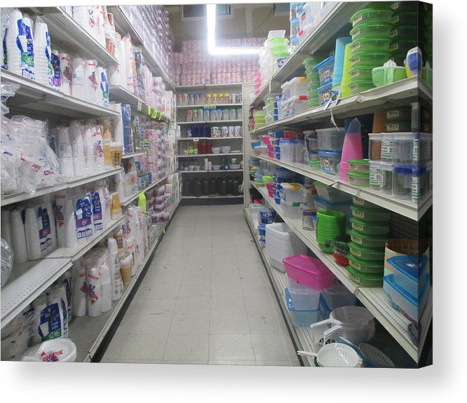 the paper towel aisle