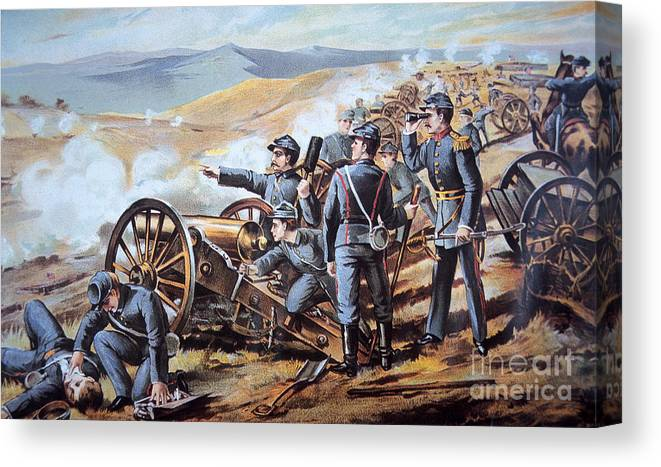 federal field artillery in