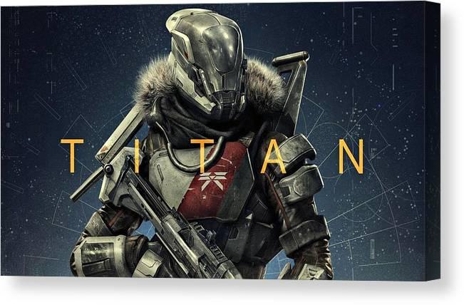 destiny 2 titan canvas print