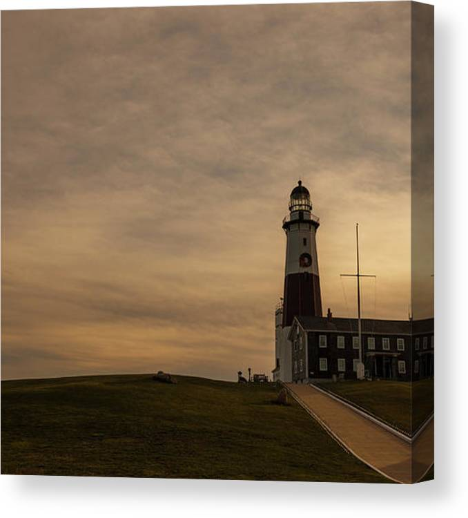 alex sofa montauk gray microfiber bed lighthouse at point long canvas print art by headland featuring the photograph potemkin