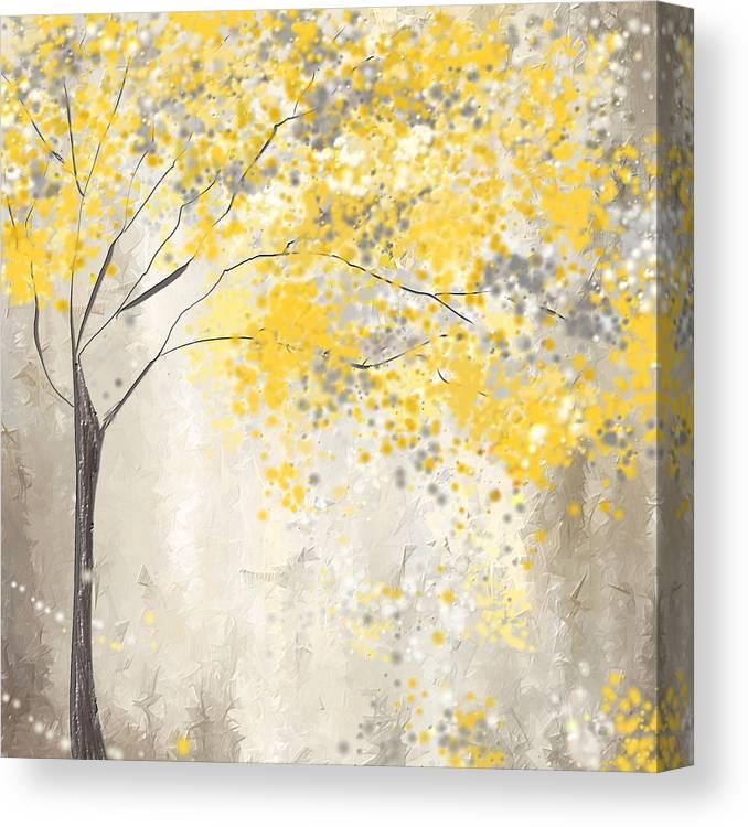yellow and gray tree